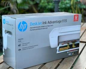 Impresora hp 1115 ink advantage deskjet