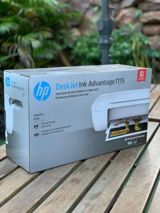 Impresora hp 1115 ink advantage deskjet - 0