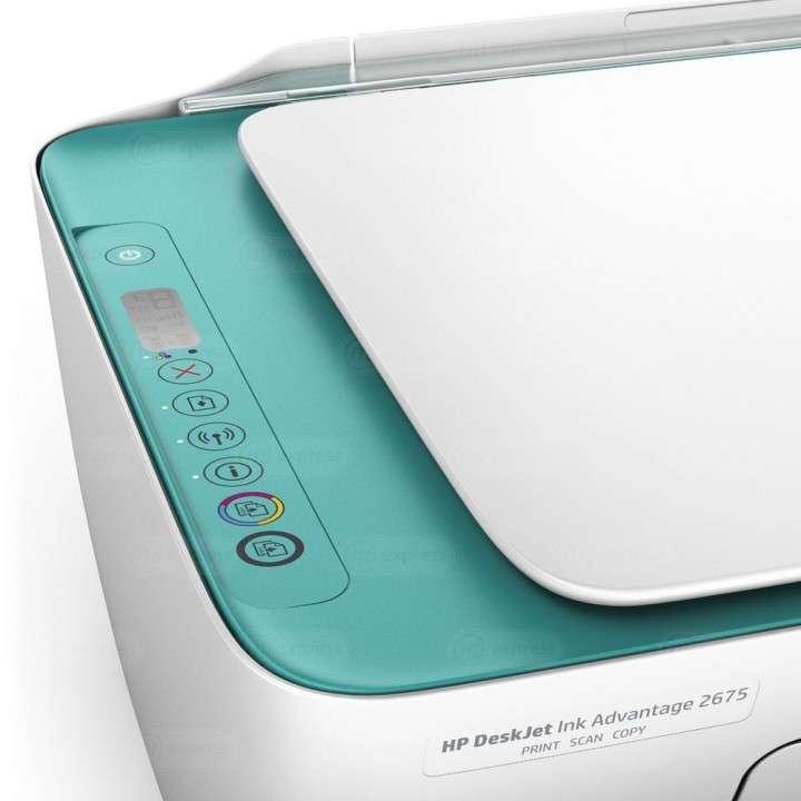 Impresora multifunción HP 2675 wifi - 2