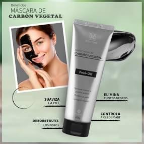Máscara de carbón vegetal para puntos negros del rostro