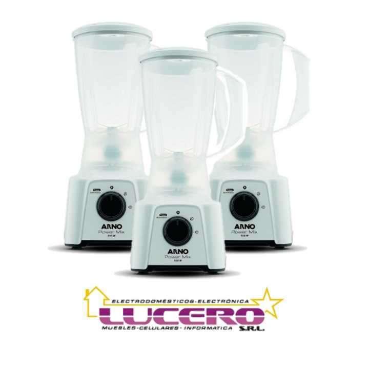 Licuadora Arno lq12 power mix blanca 550w - 0