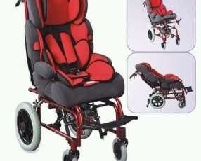 Silla de ruedas postural para niños de 0 a 8 años