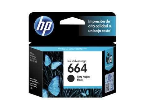 Tinta HP 664 negro - 0