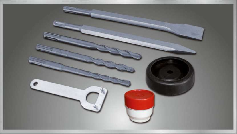Taladro rotopercutor SDS PLUS 36mm 1500W 9993896 Dowen Pagio - 3