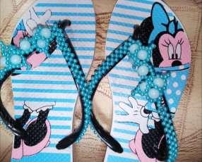 Zapatillas bordadas Havaianas e Ipanema