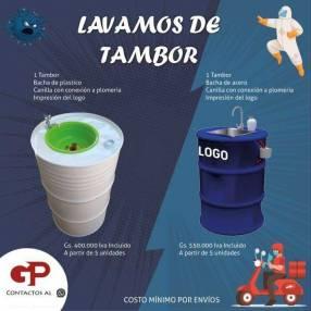 Lavamanos 1 para protocolo de sanidad laboral