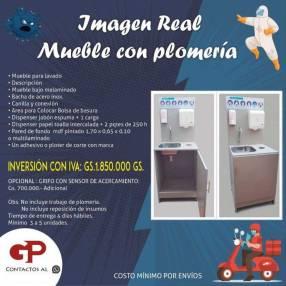 Lavamanos portátil protocolo de sanidad laboral