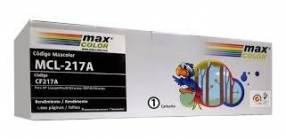 Toner Maxcolor MCL-217A_CF217A compatible con HP