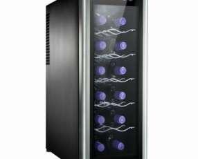 Enfriador de vino Electrolux 12 botellas inox