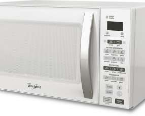 Microondas Whirlpool 20 litros WMS20GWUPB blanco con grill 700W
