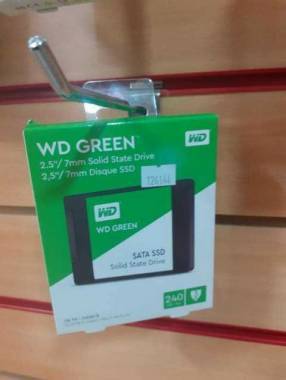"""Disco sata SSD 2,5"""" Western Digital Green 240 gb"""