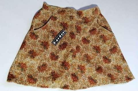 Pollera minifalda de corderoy