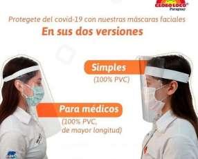 Protector facial simple