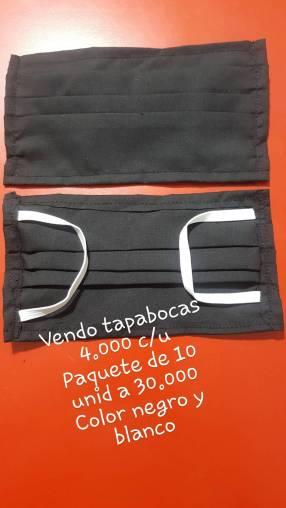 Tapabocas de tela Reutilizables