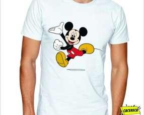 Remera Mickey corriendo Disney