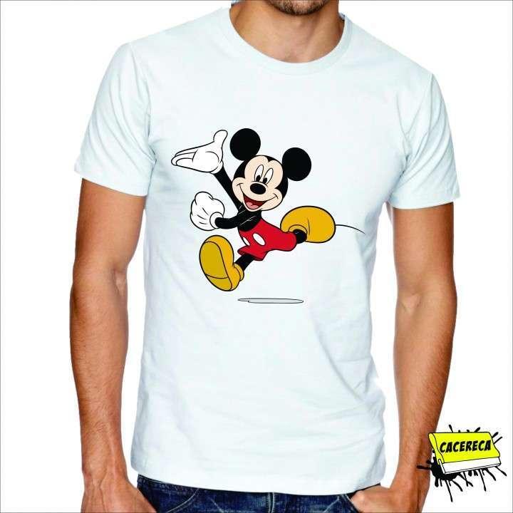 Remera Mickey corriendo Disney - 0