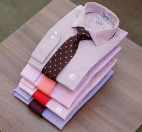 Camisa de vestir Algodón Mangas largas 100% ️