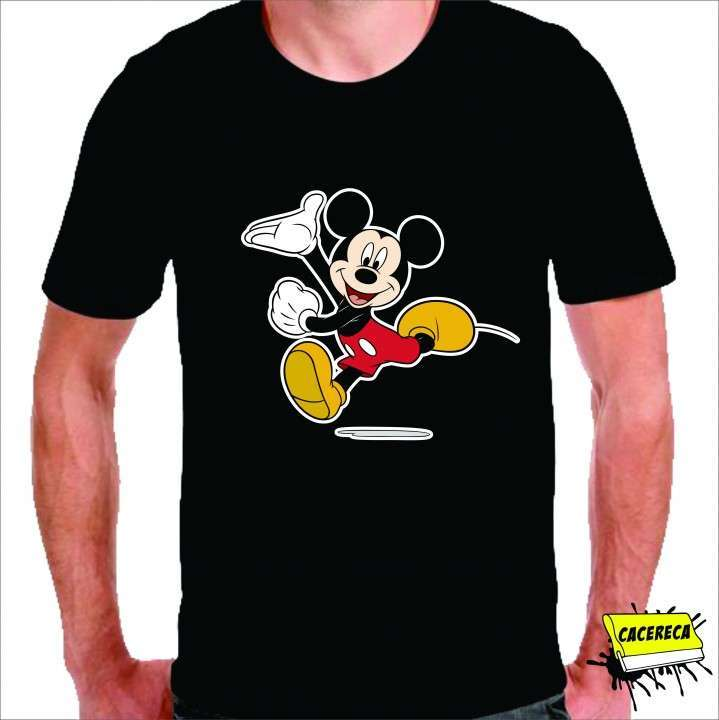 Remera Mickey corriendo Disney - 1