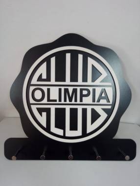 Porta llave logo Olimpia
