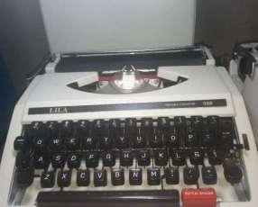 Máquinas de escribir funcionales