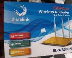 Router de wifi sin chip