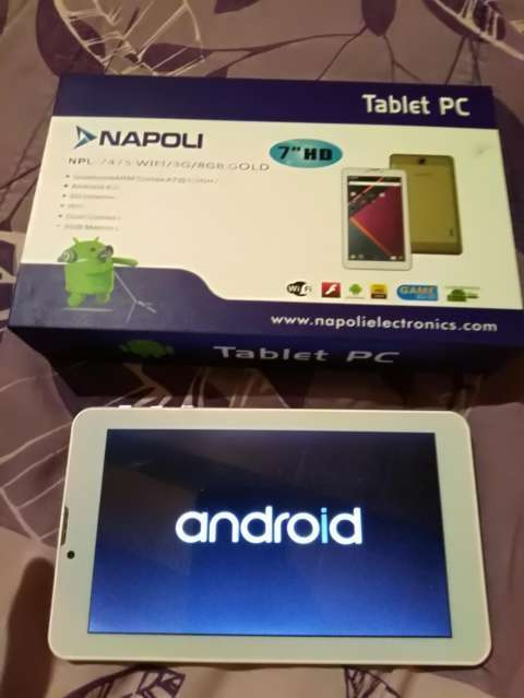 Tablet pc Napoli wifi 2 chip - 0