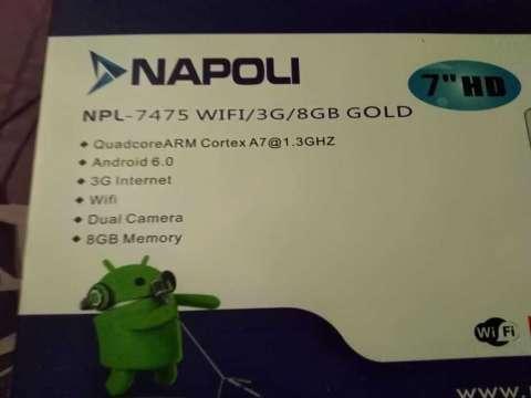 Tablet pc Napoli wifi 2 chip - 1