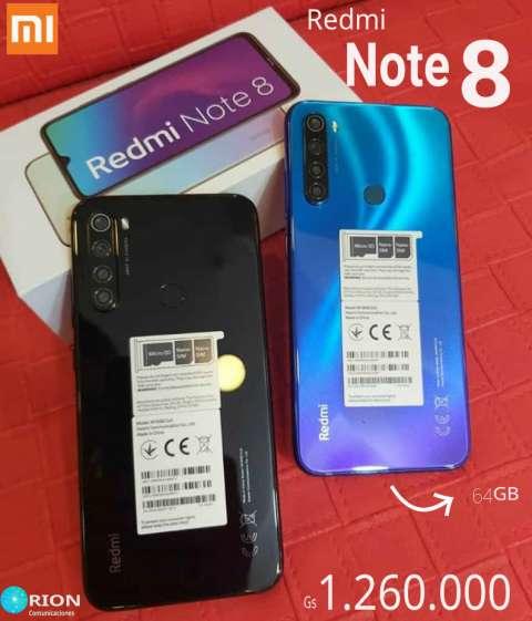 Xiaomi Note 8 de 64 gb