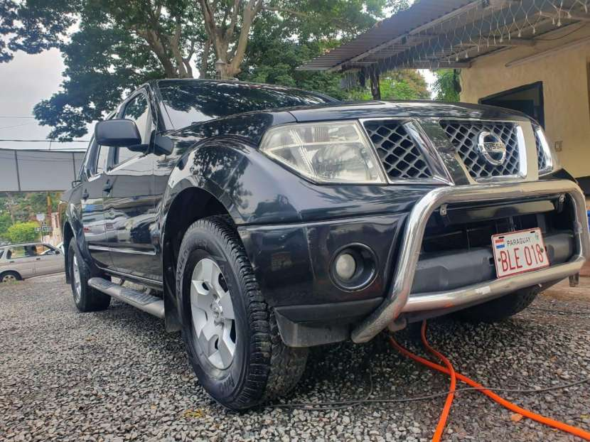 Nissan navara 2005/6caja mecanica 4x4 - full equipo - 0