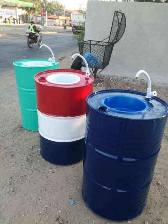 Tambores lavamanos - 0