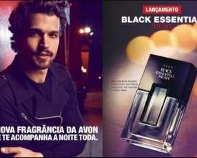 Perfume masculino Black Essential Night