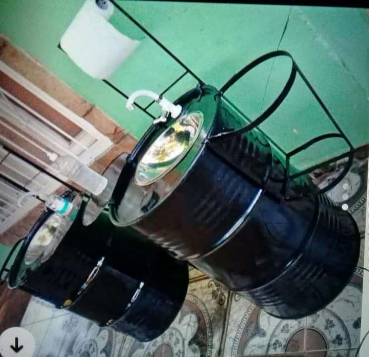 Tambores lavamanos - 1