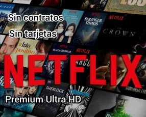 Netflix sin tarjetas ni contratos