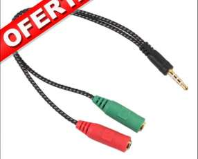 Cable Plug Stereo Macho A Plug Stereo Hembra