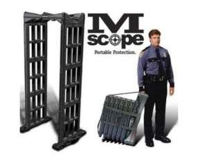 Arco detector de metales portatil con 3 zonas de detección