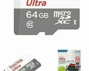 Memoria micro SDXC 64 gb con adaptador