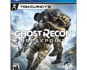 Juego Ghost Recon Breakpoint Ps4