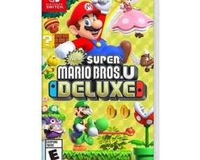 Juego Super Mario Bros Deluxe Nintendo Switch