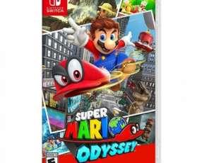 Juego Super Mario Odyssey Switch