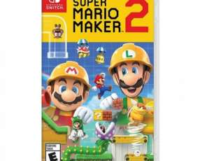 Juego Super Mario Maker 2 Nintendo Switch