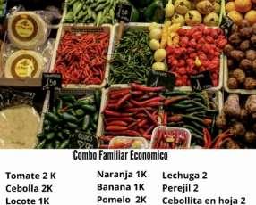 Verduras Y frutas frescas