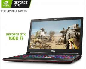 Notebook MSI GL63 32 Gb