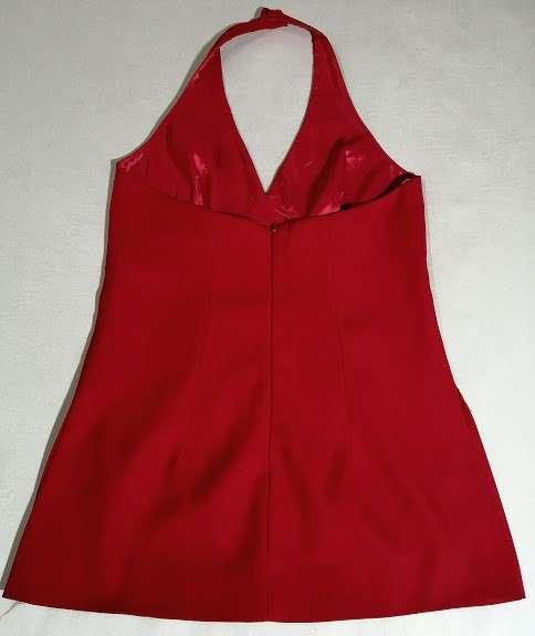 Blusa poliéster rojo talle 6 - 1