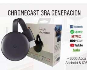 Chromecast 3ra generación