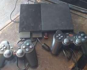 Playstation 2 con pendrive 16 gb 17 juegos incluidos