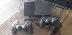 PlayStation 2 con pendrive 16 gb y 20 juegos incluidos