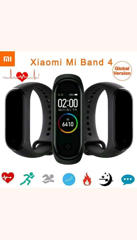 Reloj pulsera Xiaomi mi band 4 negro
