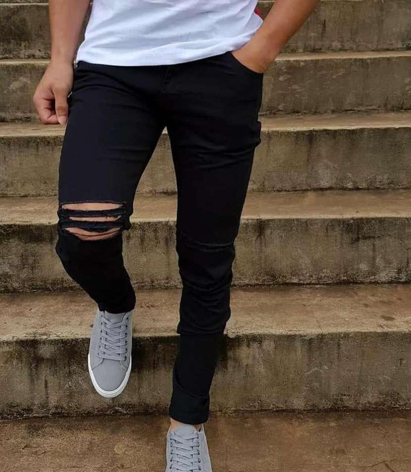 Pantalones Rasgados - 1
