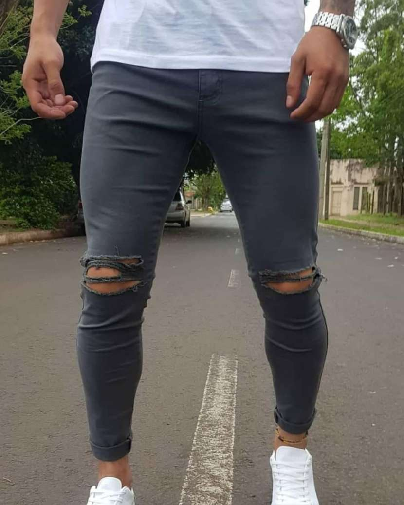 Pantalones Rasgados - 2