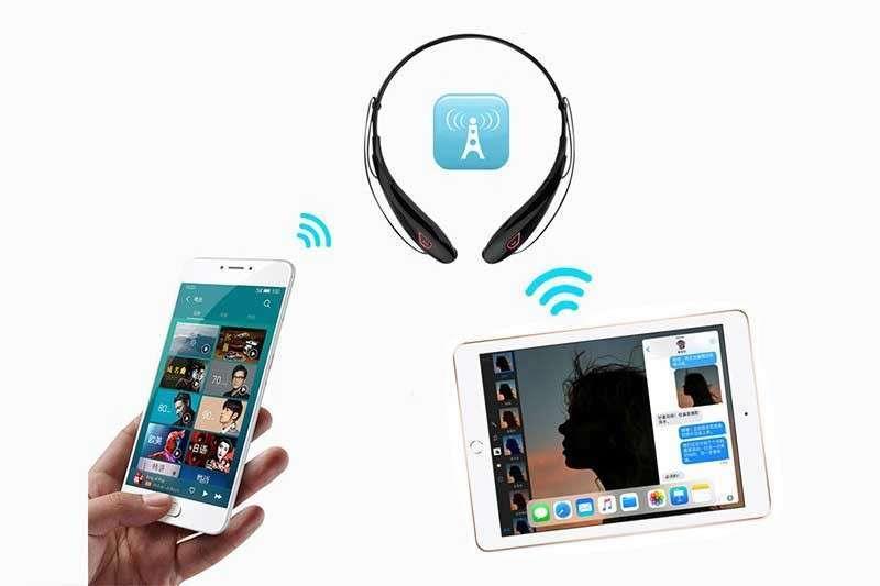 Auriculares estéreo con Bluetooth - 1
